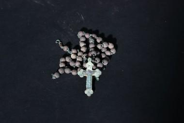 Католический крест с цепочкой. Германия
