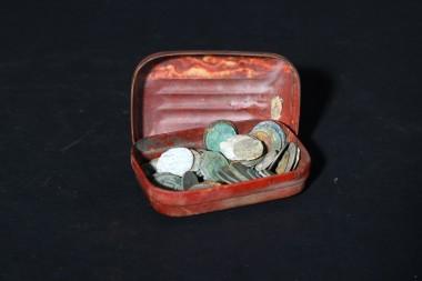 Мыльница и монеты. СССР 1930-40 гг