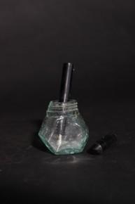 Чернильница с перьевой ручкой. СССР 1940-е года